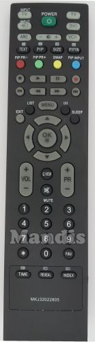 Replacement Remote Control for Lg 32LC3R-ZJ