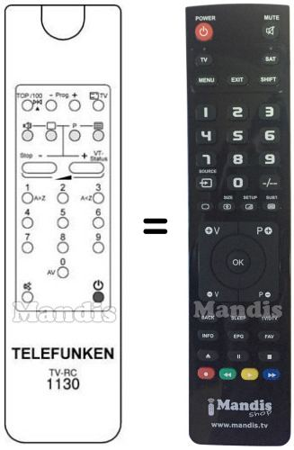 Replacement remote control F428M