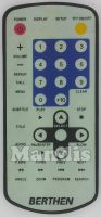 Original remote control BERTHEN BER001