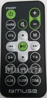 Original remote control MUSE M-1280BT