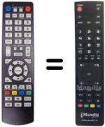 Replacement remote control 4GEEK DMPR 500