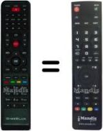 Replacement remote control Gigablue HD800SEPLUS
