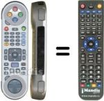 Replacement remote control FREEBOX 3139 228 68561