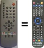 Replacement remote control Rainford X65187R-2