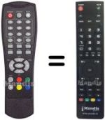 Replacement remote control GE SER DT 6800