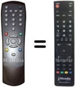 Replacement remote control Lemon 030-CI