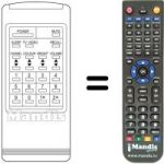 Replacement remote control INTERBURG M 530